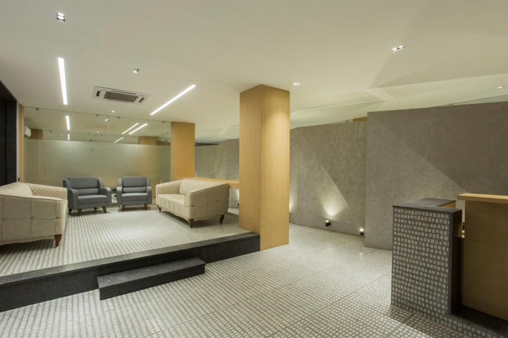Zarko, office for ceramic tile manufacturing company at Morbi, Gujarat, by Bridge Studio 15