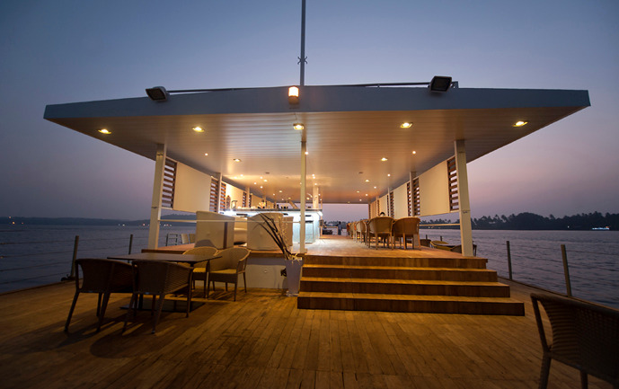 Floating Barge Restaurant at Goa, by SDM Architects 2