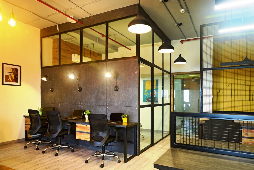 YELLOW IS THE NEW BLACK, Auronova Office at Mumbai - by THE DESIGN CHAPEL 9
