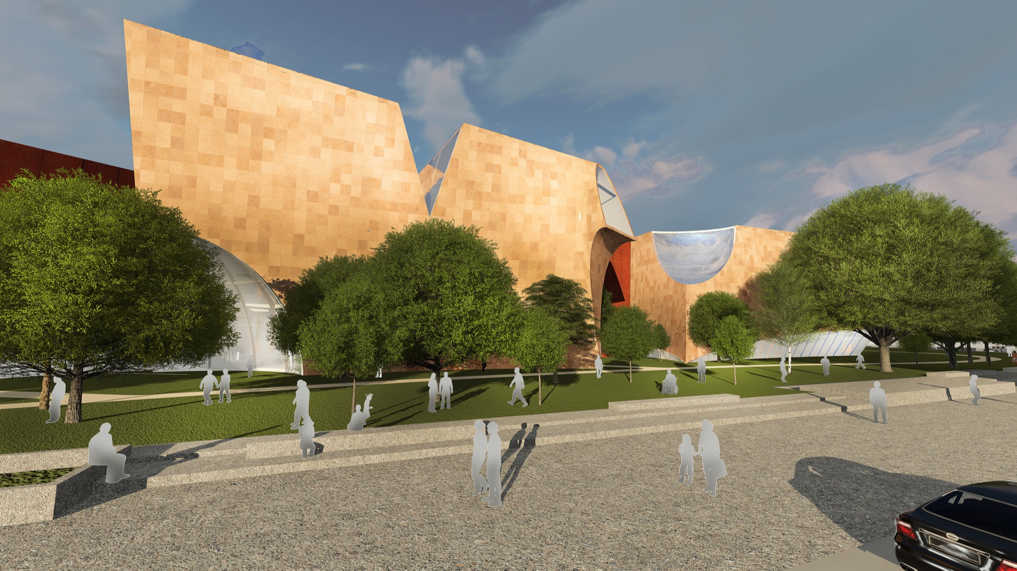 National War Museum by Collaborative Architecture