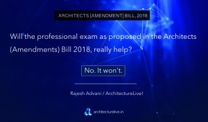 Council of Architecture - Amendments to Arhcitects Act