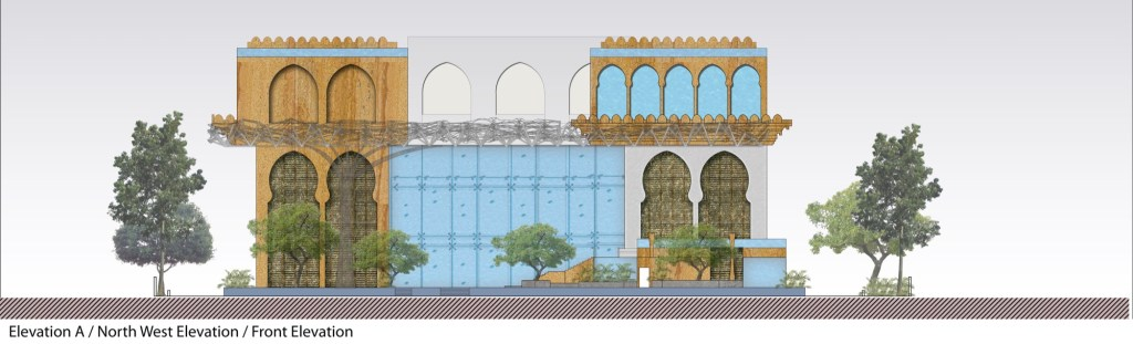 Competition Entry: Proposal for Redevelopment of Rajasthan House, 2018, by Intrigue Designs 7