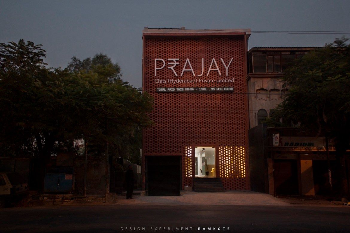 Prajay Chits Hyderabad, designed by Design Experiment