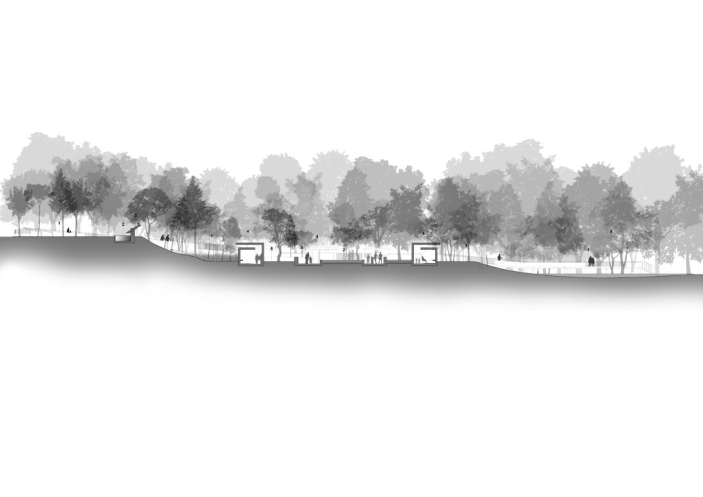 Sandy Hook Memorial, Competition Entry by Collaborative Architecture 17