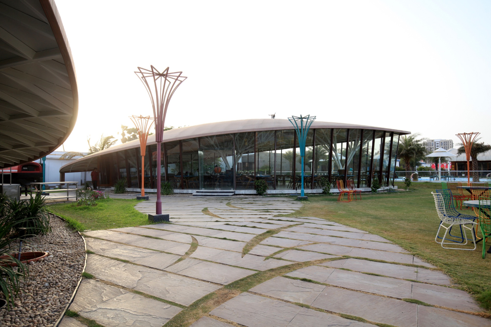 Pavilion- Garden of Spices, at Surat, Gujarat - Van Sthapati Associates 9