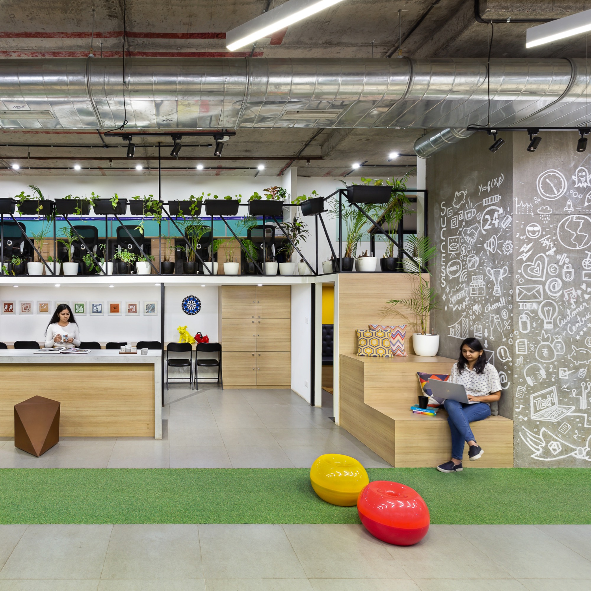 Happy Office, India Bulls, at Lower Parel, Mumbai, by Studio Osmosis 24