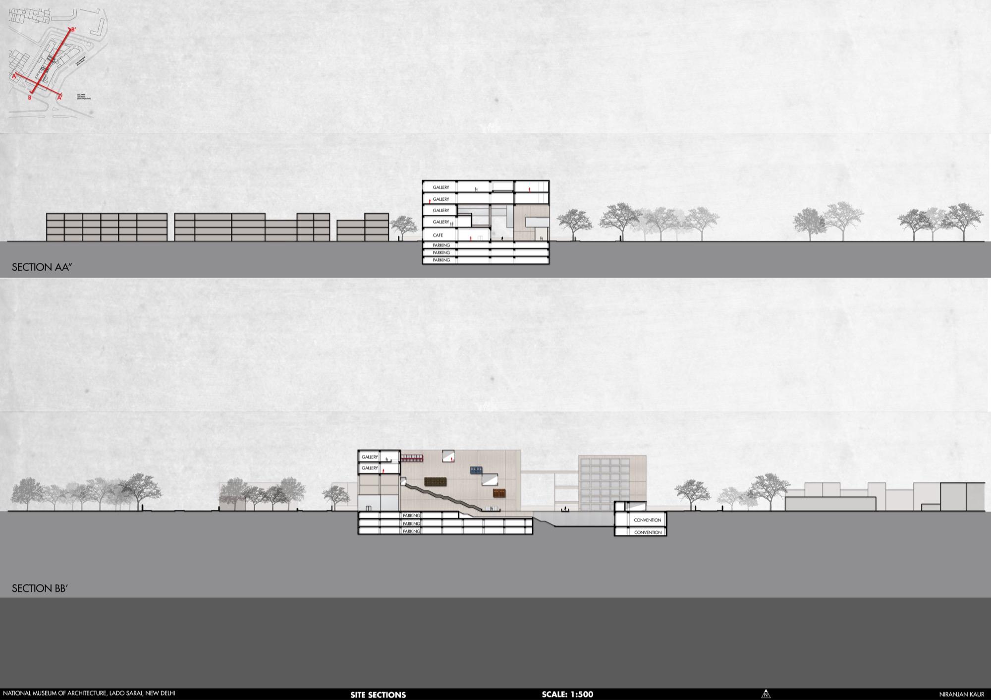 B.Arch Thesis: National Museum of Architecture, New Delhi, by Niranjan Kaur 38