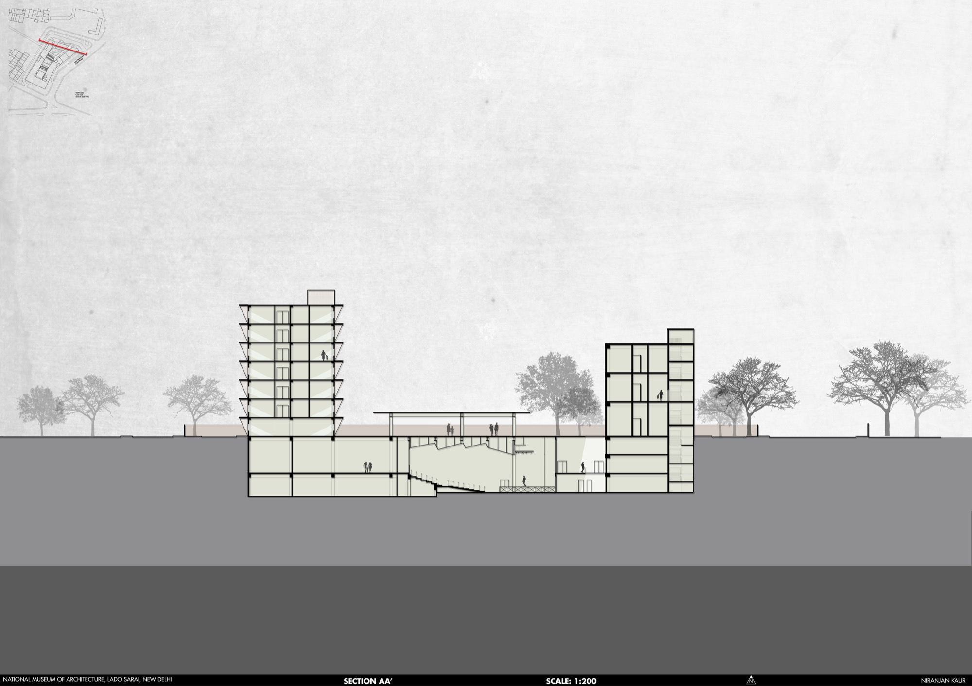 B.Arch Thesis: National Museum of Architecture, New Delhi, by Niranjan Kaur 40
