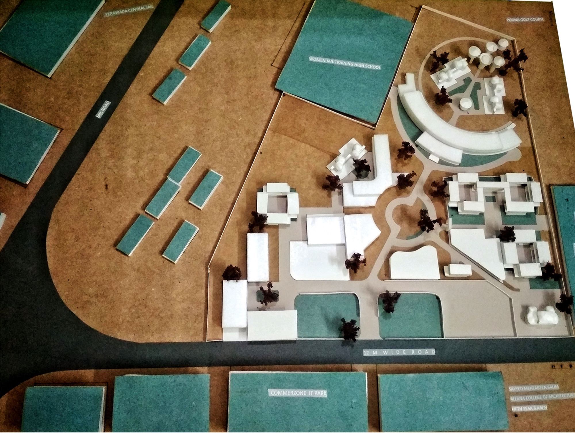 B.Arch Thesis: One Stop Crisis Centre at Pune, by Mehzabeen Sayyed, Allana College of Architecture 19