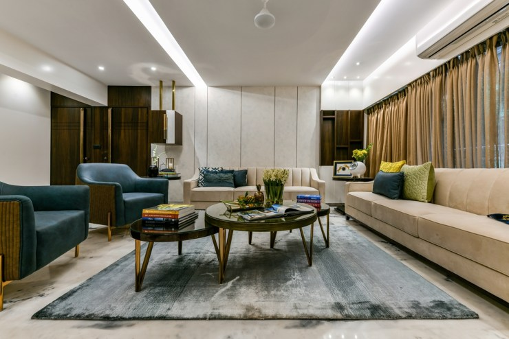 Interior Design for Mayfair Apartment, at Mumbai, by AUM Architects 1