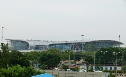 View of Airport from City