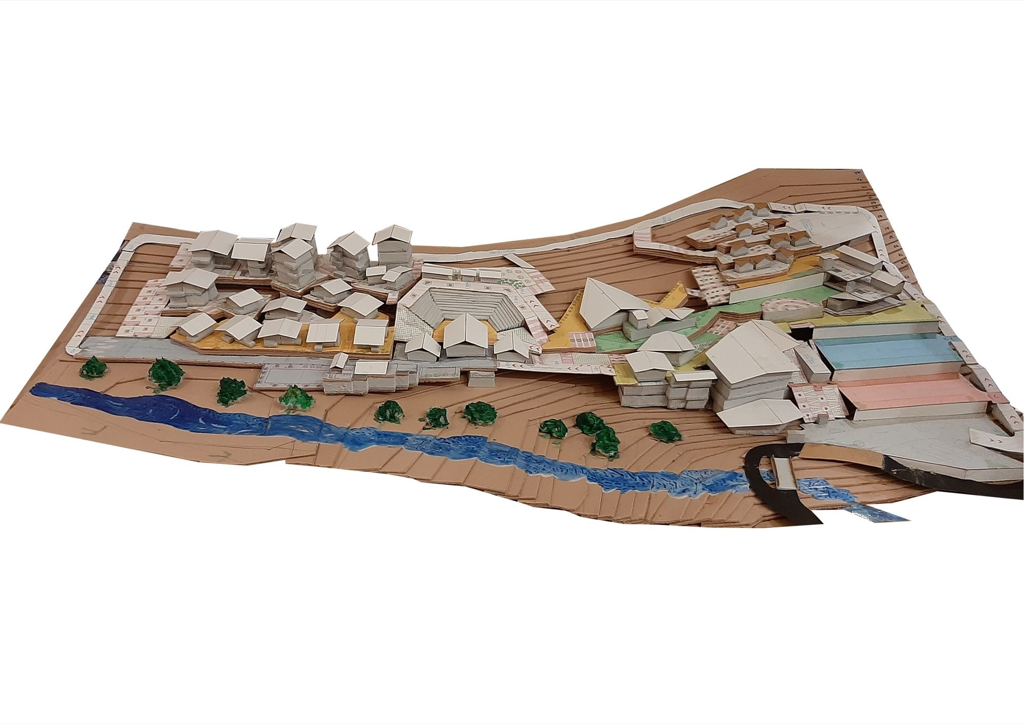 B.Arch Thesis: Eco-Tourist Hub of KHONOMA Village, By Shanjo A. Kithan, ITM University-Gwalior 1