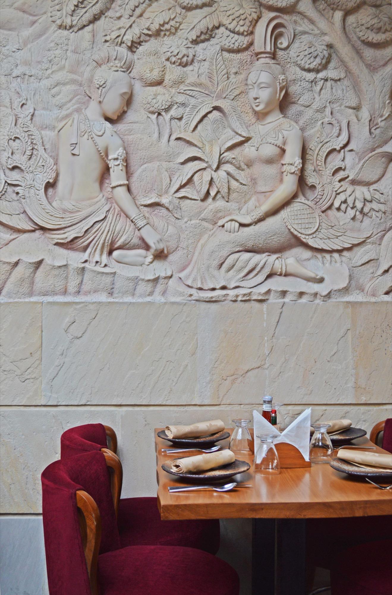 Best of Asia Village, Interior design for a restaurant at Delhi by Aspire Designs 17