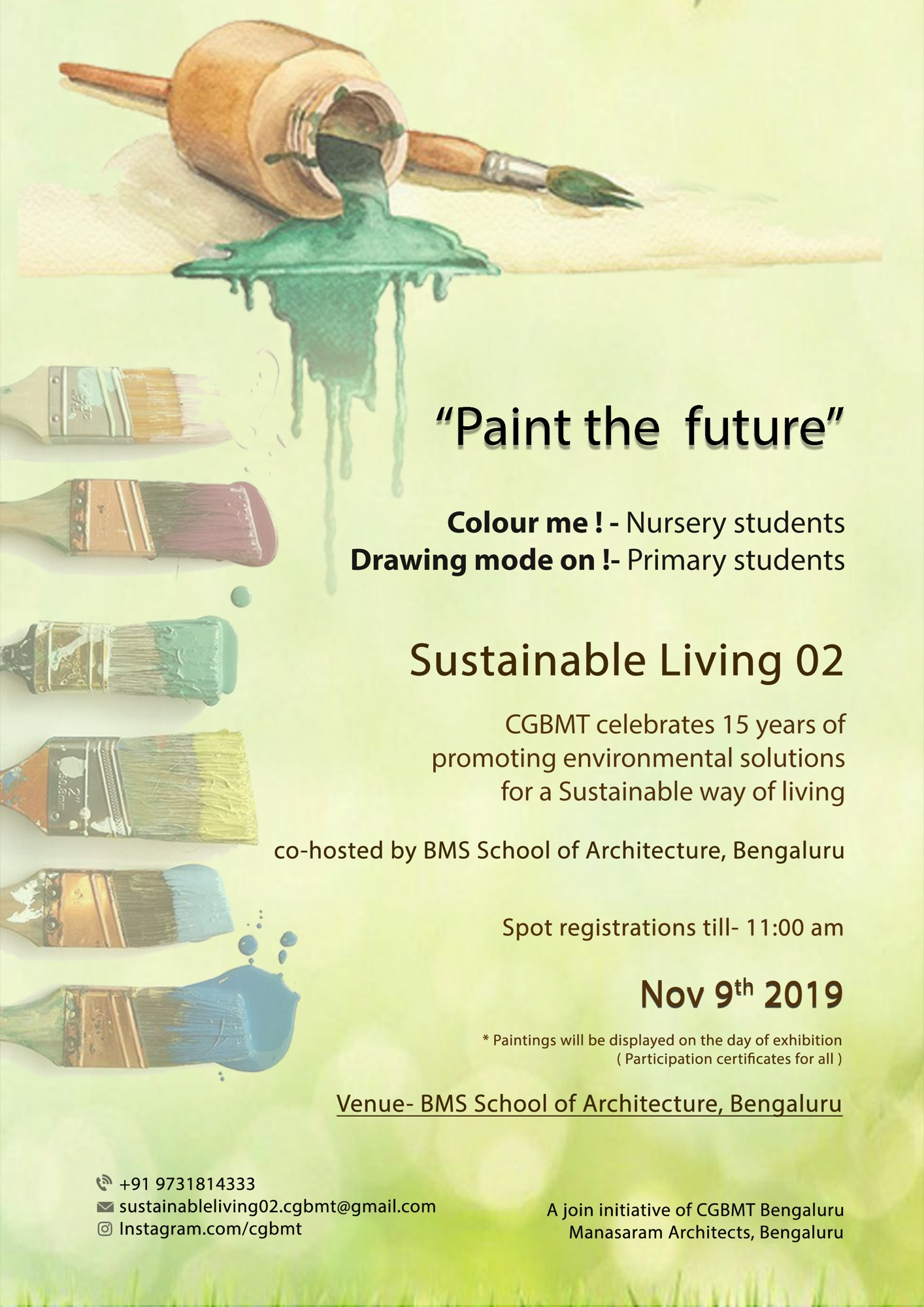 Sustainable Living-2, Event by Centre for Green Building Materials and Technology, Bangalore 13