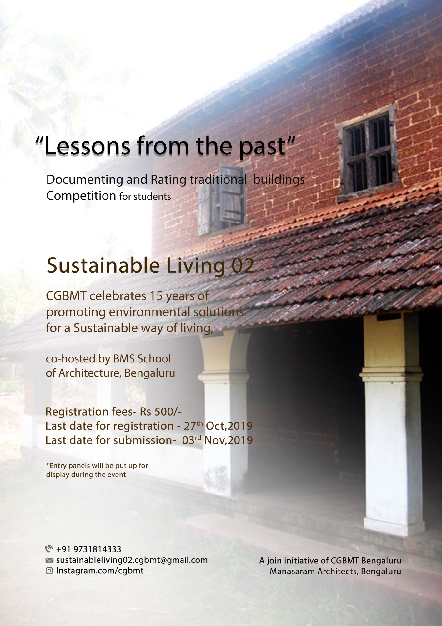 Sustainable Living-2, Event by Centre for Green Building Materials and Technology, Bangalore 19