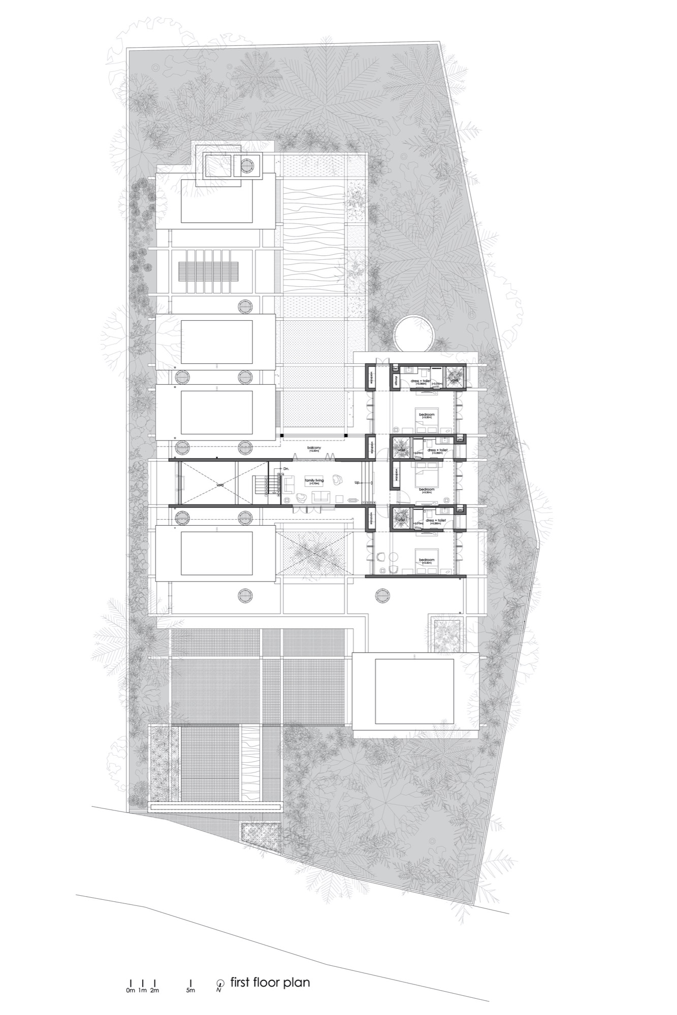 The House Within The Grid, at Thrissur, Kerala, by LIJO.RENY.architects 5