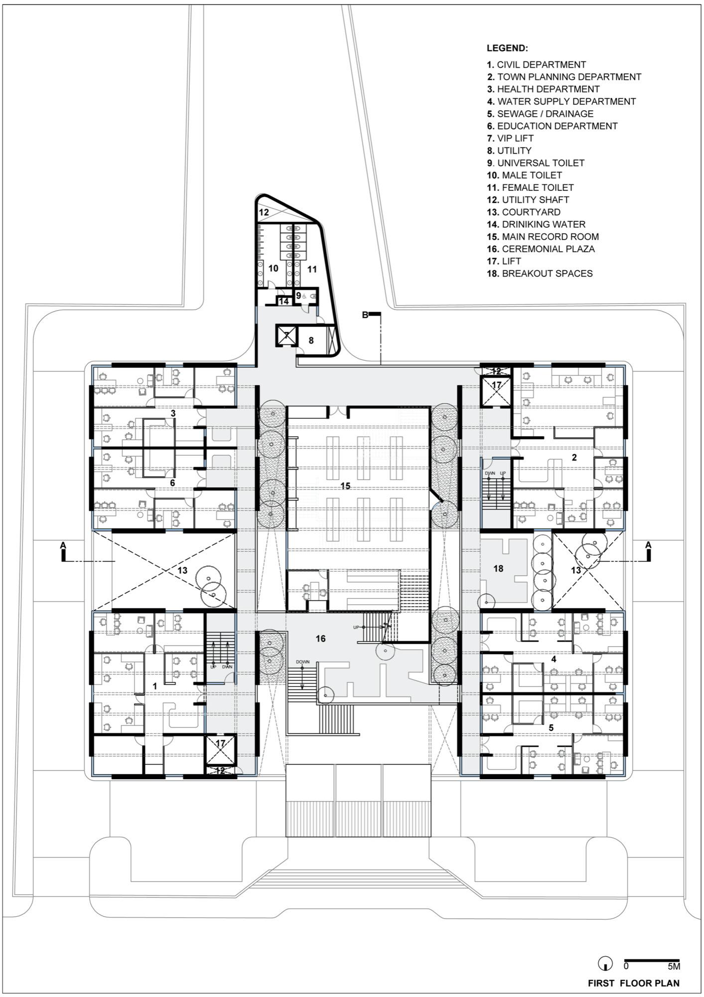 Satara Municipal Corporation: Competition Entry by Studio PPBA 23