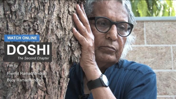 Balkrishna Doshi - Bijoy Ramachandran