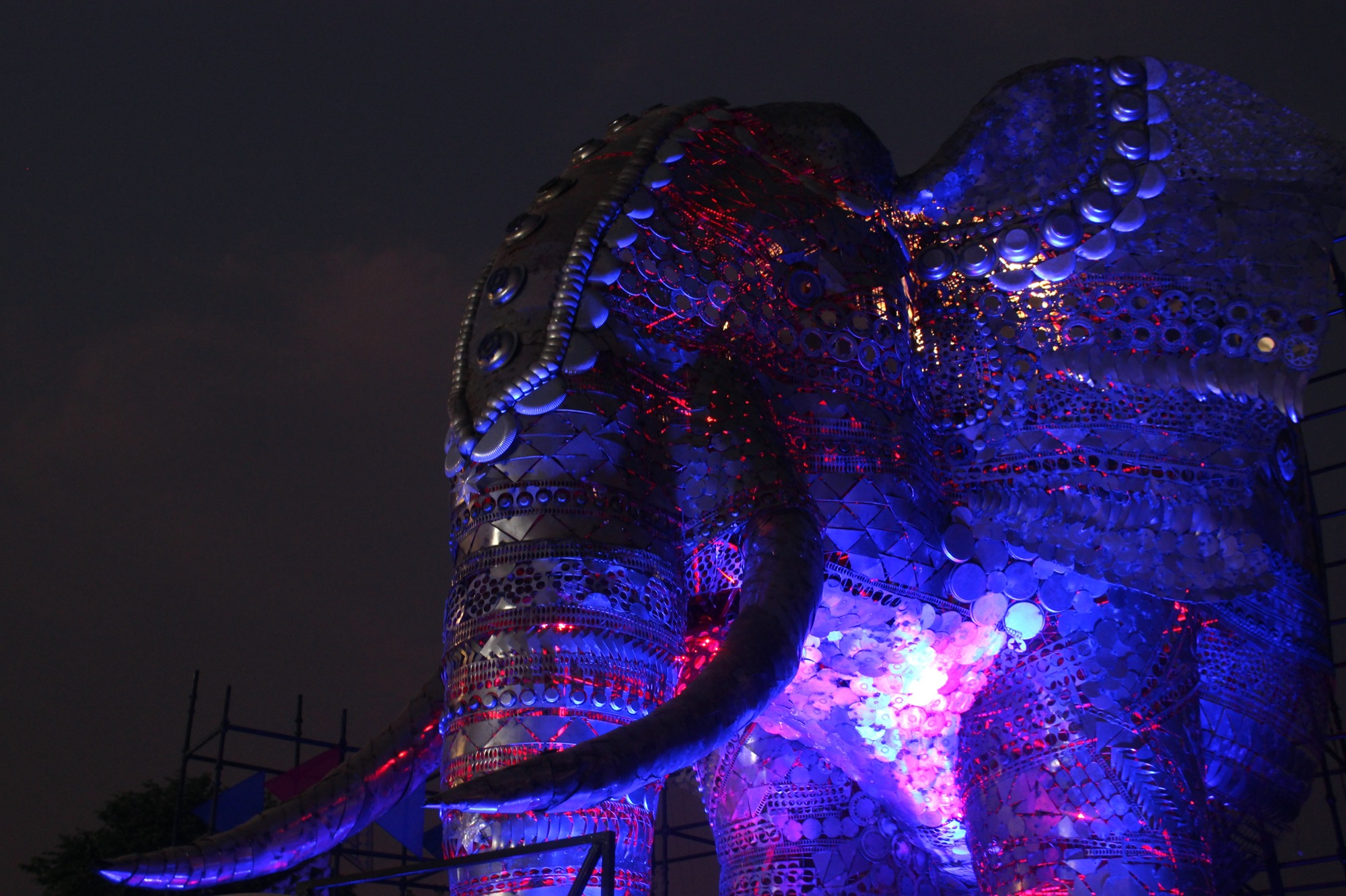 Giant Animal Installations at Indian Handicrafts and Gift Fair Exhibition, by TOD Design Innovations 14