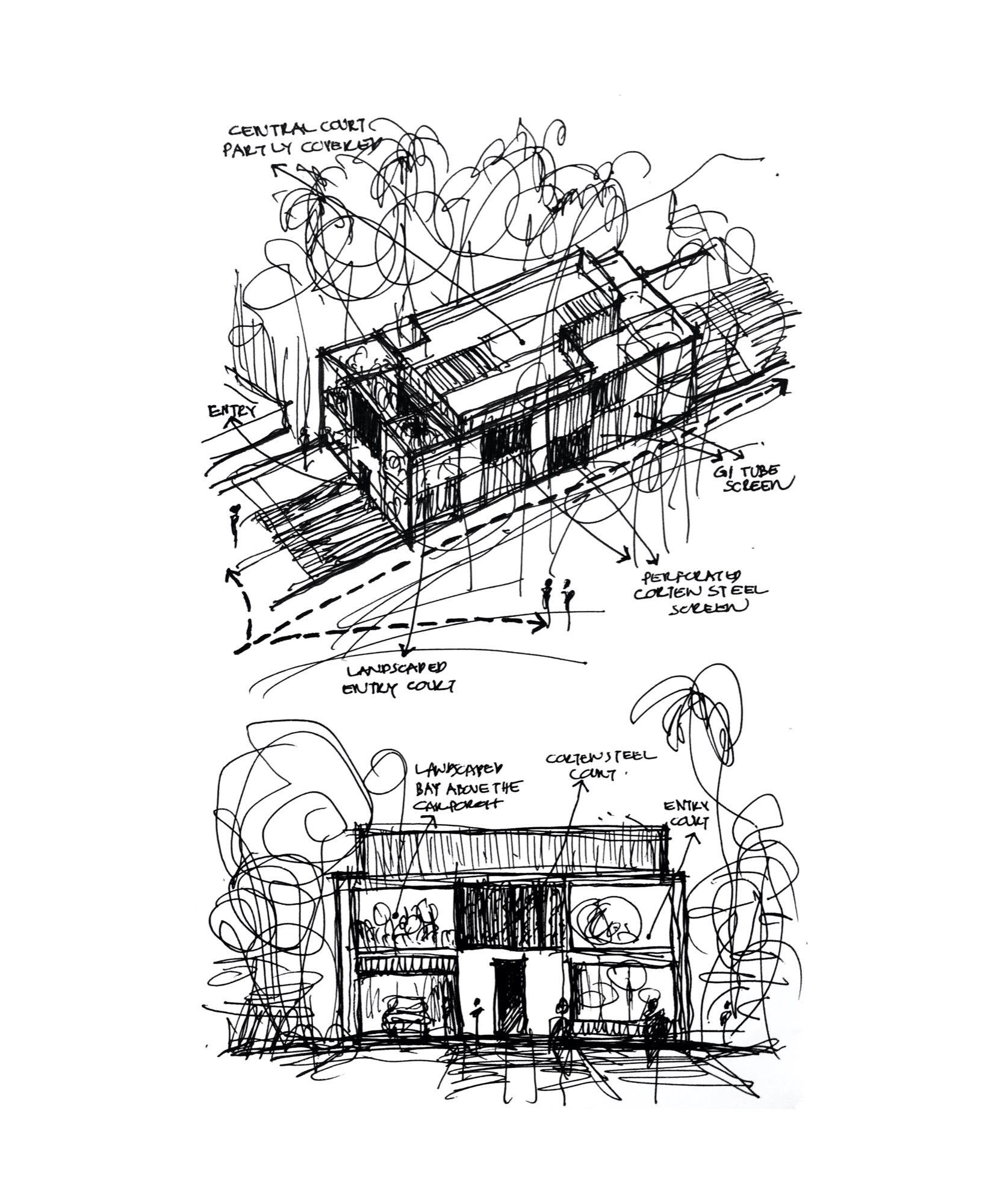 Regimented House at Kerala, by LIJO.RENY.architects 109