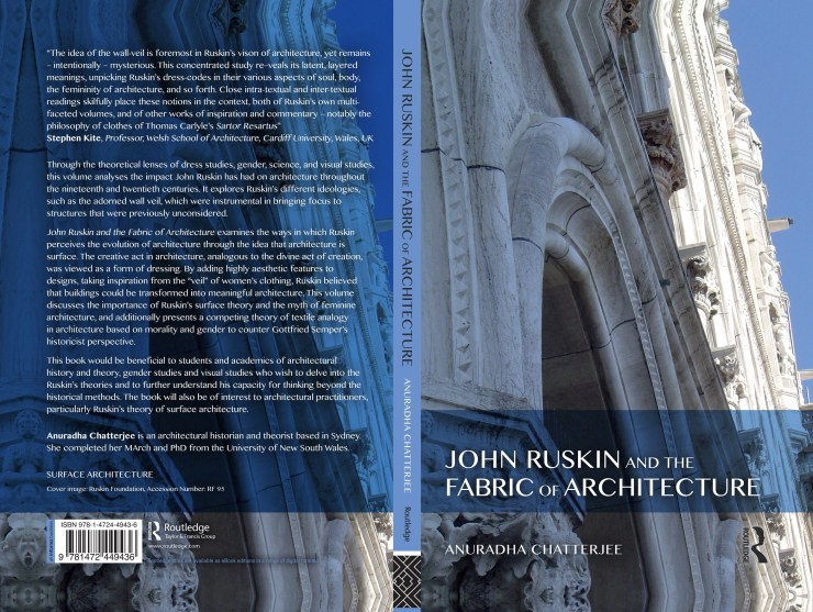 Book review: John Ruskin and the Fabric of Architecture authored by Anuradha Chatterjee