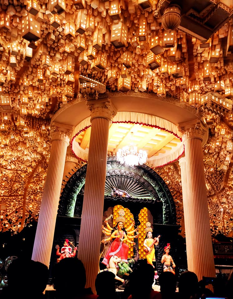 Kolkata's Unexplored Durga Puja Scenography, a photo story  by Arghya Ghosh 71