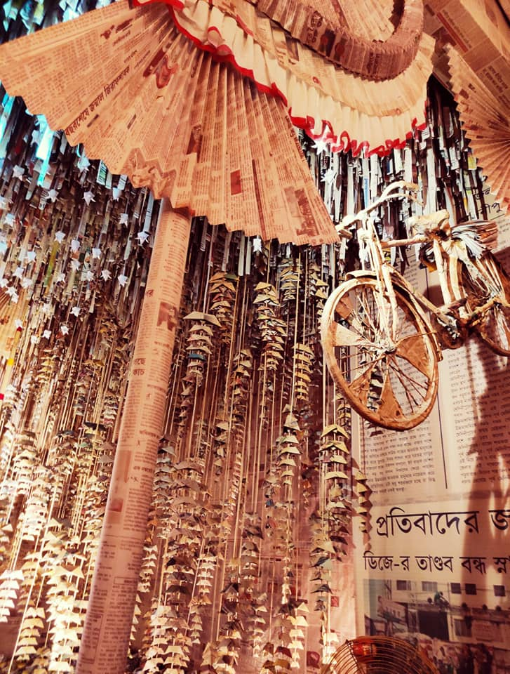 Kolkata's Unexplored Durga Puja Scenography, a photo story  by Arghya Ghosh 59