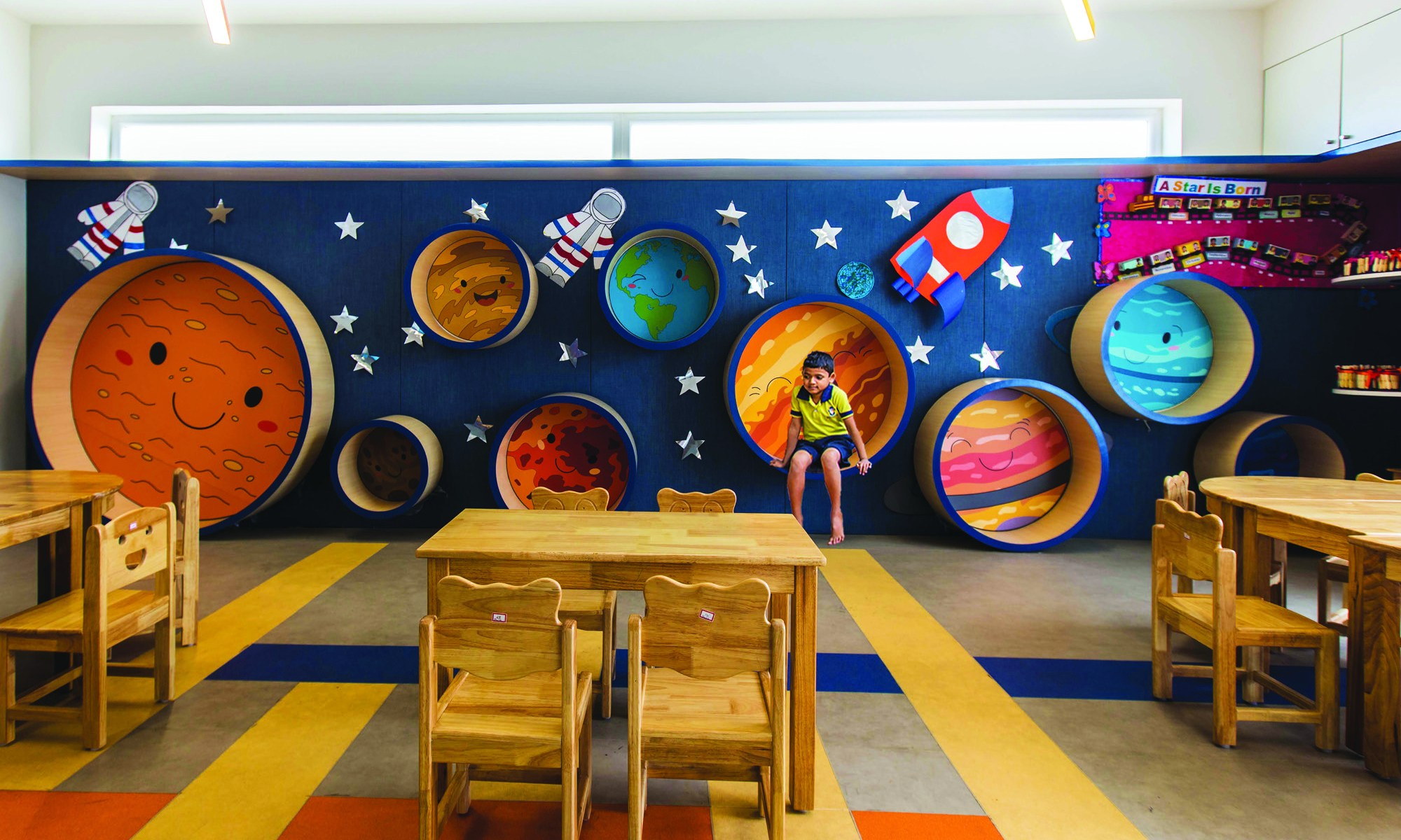 Toy Story, Play School at Bangalore - Collage Architecture Studio