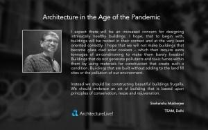 Snehanshu Mukherjee- Architecture-Pandemic