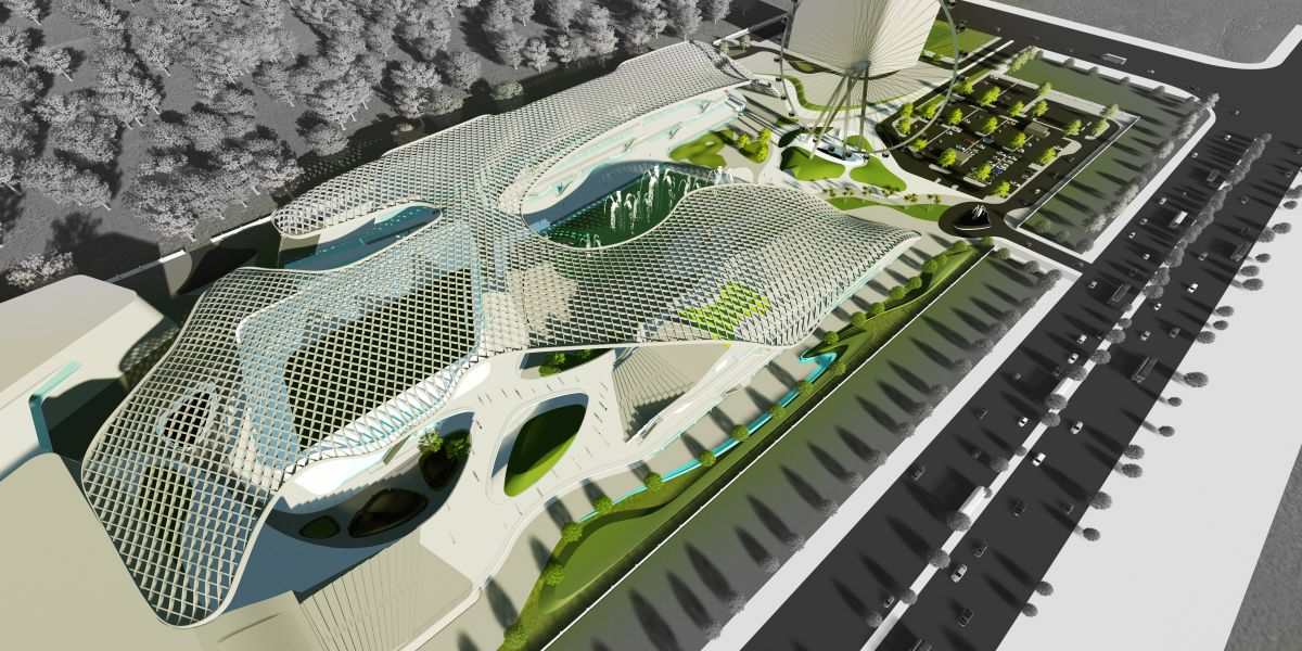 B.Arch Thesis : URBAN ENTERTAINMENT CENTRE, at Noida by KUNAL LUTHRA 11