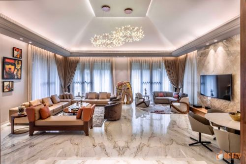 An Inside Look of a Neo-Classical Infinity Design, at Pune, Maharashtra, by Infinity Architects and Interior Designers 6