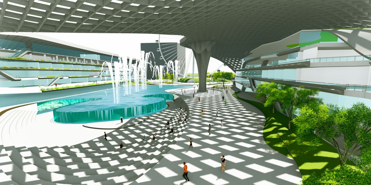 B.Arch Thesis : URBAN ENTERTAINMENT CENTRE, at Noida by KUNAL LUTHRA 13