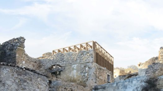 Unbuilt : TRACES - GHOST TOWN REFUGE, at Craco, Italy, by Claudio C. Araya, Yahya Abdullah 177