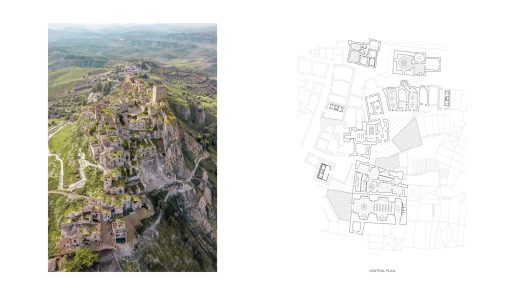 Unbuilt : TRACES - GHOST TOWN REFUGE, at Craco, Italy, by Claudio C. Araya, Yahya Abdullah 54