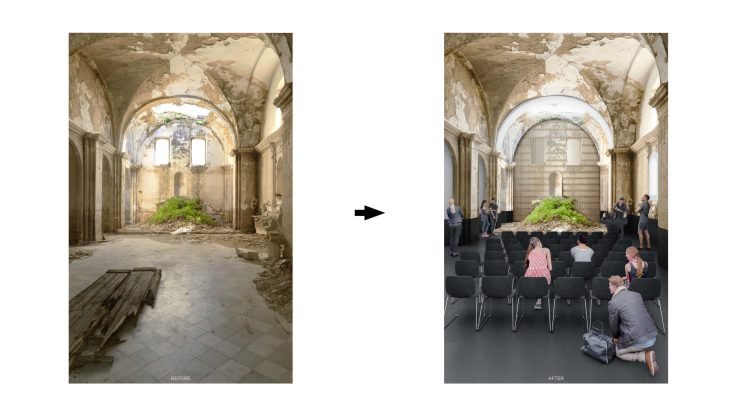 Unbuilt : TRACES - GHOST TOWN REFUGE, at Craco, Italy, by Claudio C. Araya, Yahya Abdullah 7