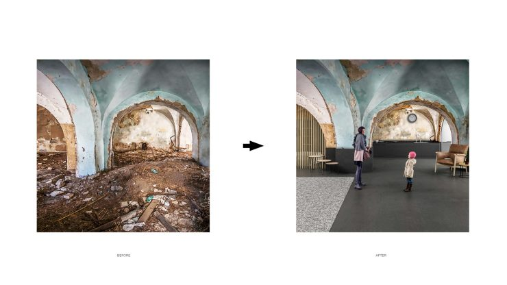 Unbuilt : TRACES - GHOST TOWN REFUGE, at Craco, Italy, by Claudio C. Araya, Yahya Abdullah 15