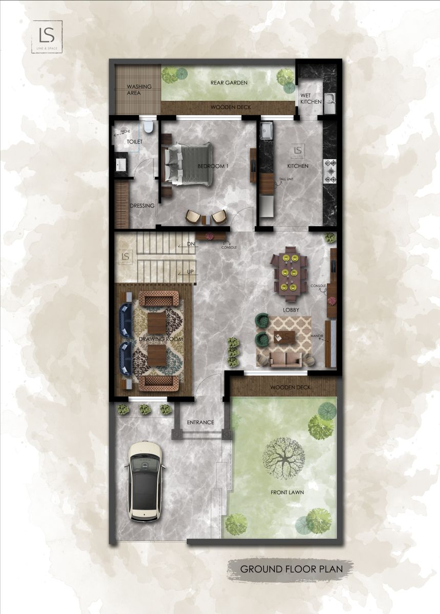 Abharna, at Dream city, Amritsar, Punjab, by Line and Space 24