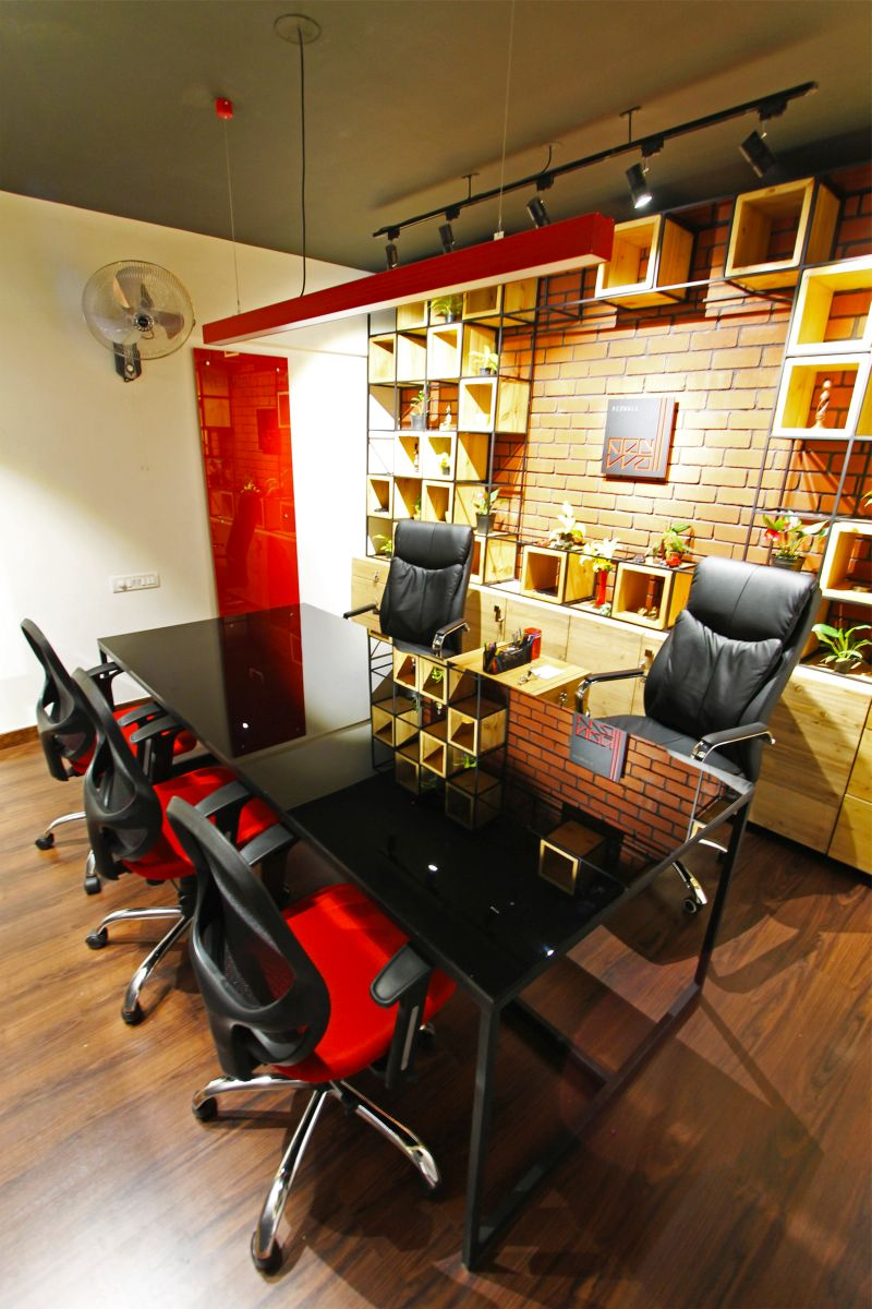 REDWALL STUDIO, at JP NAGAR, BENGALURU, by REDWALL DESIGN STUDIO 5