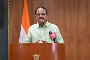 Vice President virtually addresses National Convention of the Indian Institute of Architects