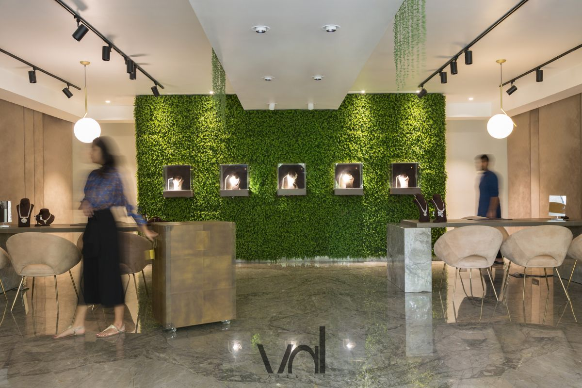 Boutique Jewellery Store at Hyderabad by VAL Atelier 9