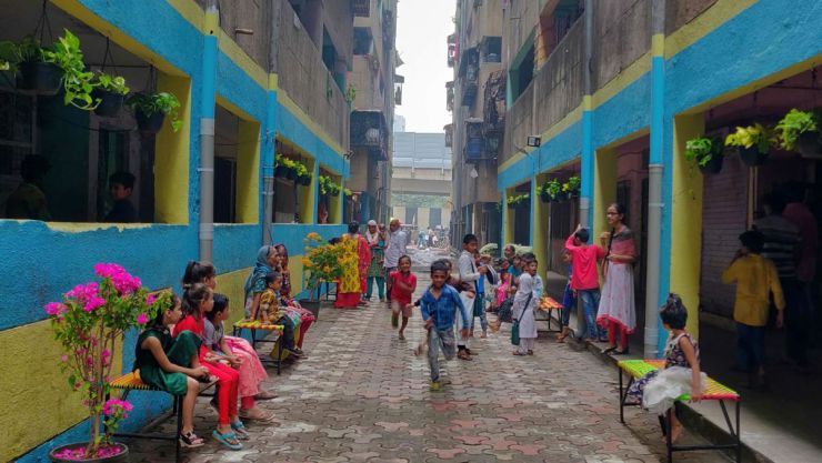 Can Waste Bring Communities Living in High Density Vertical Slums Together?-A Photostory by Bhawna Jaimini and Natasha Sharma 34