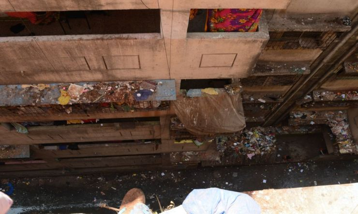 Can Waste Bring Communities Living in High Density Vertical Slums Together?-A Photostory by Bhawna Jaimini and Natasha Sharma 4