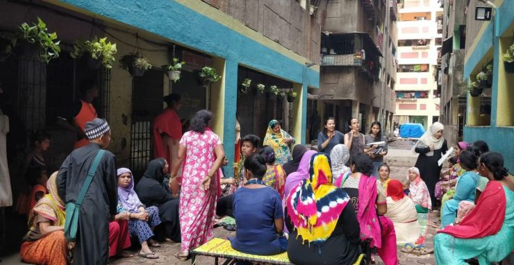 Can Waste Bring Communities Living in High Density Vertical Slums Together?-A Photostory by Bhawna Jaimini and Natasha Sharma 42