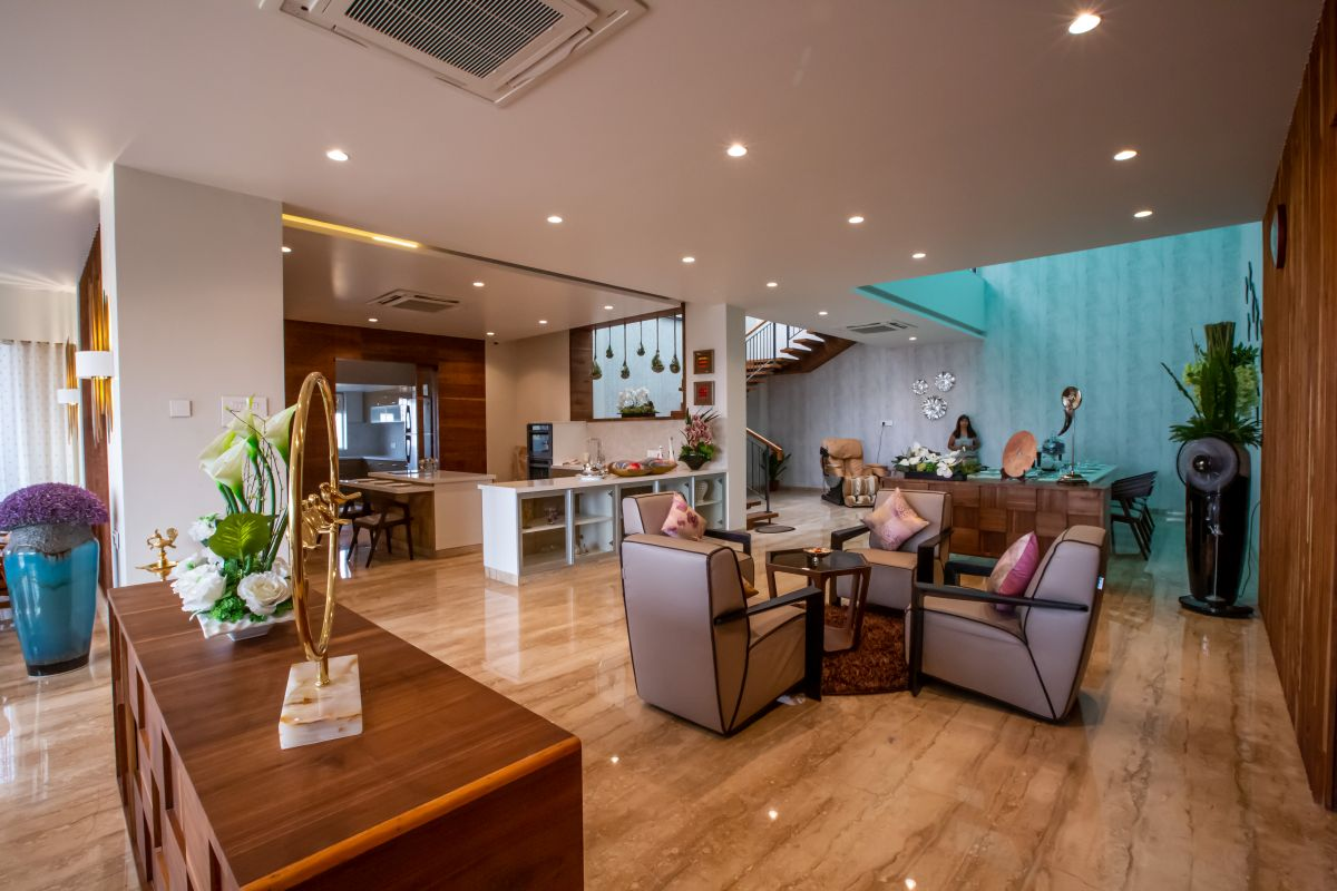 Jagtap Residence at Pune by Designers Group 9