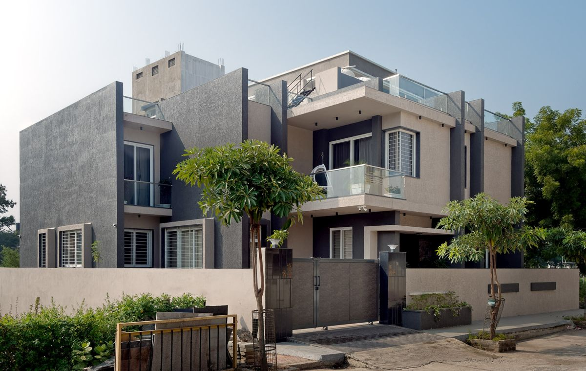 GHEI RESIDENCE at NANDED, MAHARASHTRA, by 4TH AXIS DESIGN STUDIO