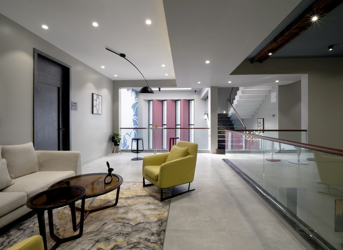 GHEI RESIDENCE at NANDED, MAHARASHTRA, by 4TH AXIS DESIGN STUDIO 18
