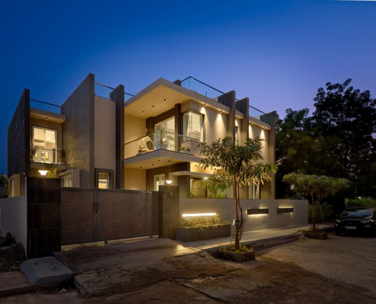 GHEI RESIDENCE at NANDED, MAHARASHTRA, by 4TH AXIS DESIGN STUDIO 62