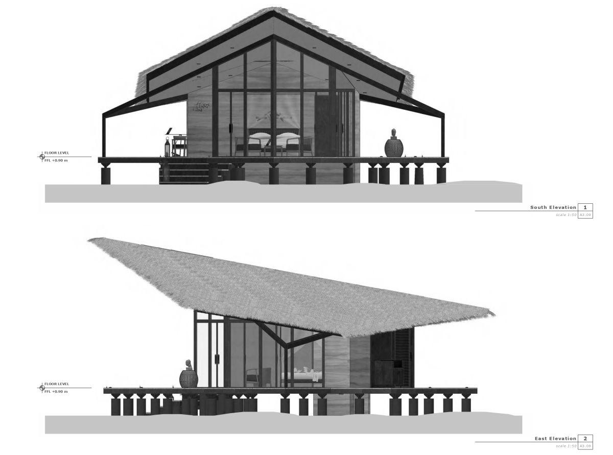 Unbuilt: KH retreat at Cambodia by Architectural Engineering Consultants 1
