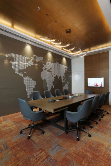 Contemporary Corporate Office, at Gurugram, Haryana, by Parag Singal Architects
