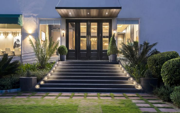 High-End Hospitality Corporate Office, at India, by Parag Singal Architects 2